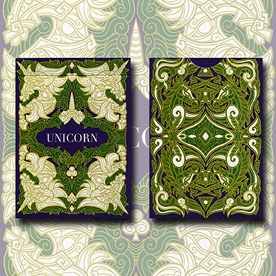 Unicorn Playing Cards (Emerald Edition)
