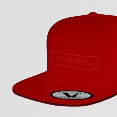 Vanishing Inc. Snapback (Red)