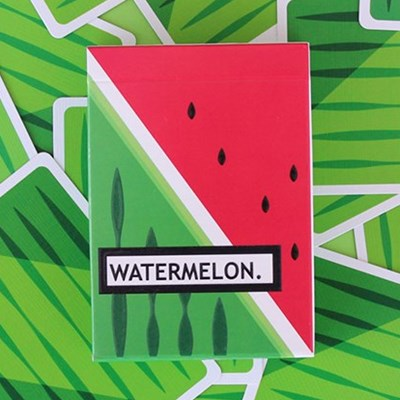 Watermelon Playing Cards Created