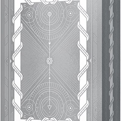 White Monolith Playing Cards
