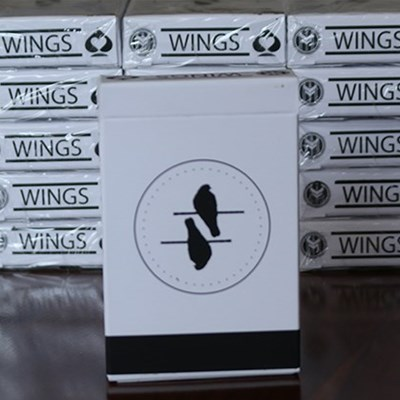 Wings Marked Playing Cards (Bridge