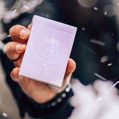 Winter NOC Lavender Dusk  Playing Cards