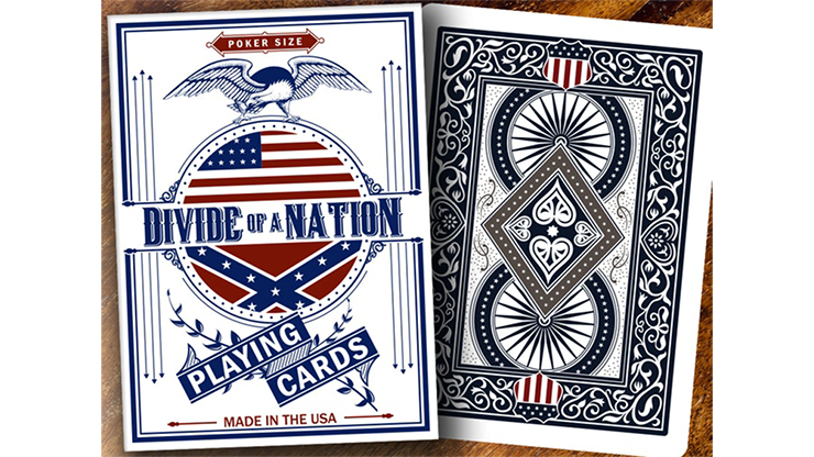 Bicycle Divide of A Nation Playing