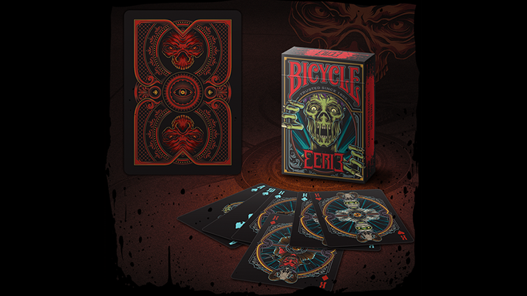 Bicycle Eerie  Playing Cards