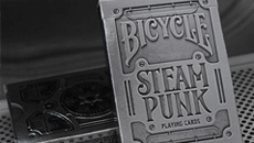 Bicycle Silver Steampunk Playing Ca