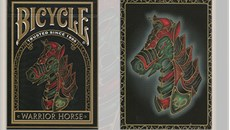 Bicycle Warrior Horse Playing Cards
