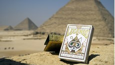 Egypt Legends Playing Cards (Red)