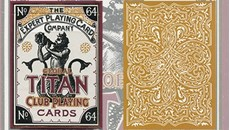 Global Titans Playing Cards