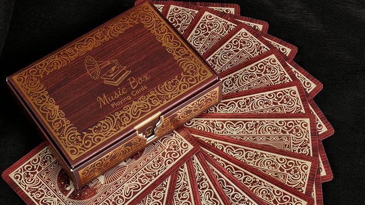 Music Box Playing Cards