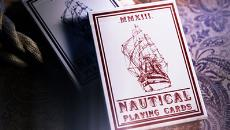 Nautical Playing Cards (Red)