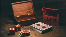 Royal Zen Playing Cards (Red)