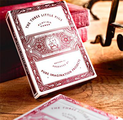 The Three Little Pigs Playing Cards
