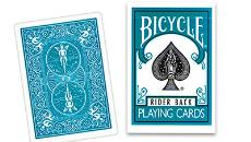Turquoise Bicycle Deck