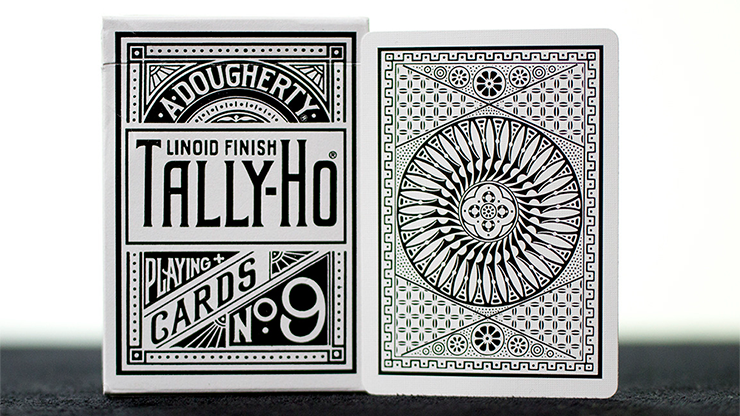 White Tally-Ho  Playing Cards