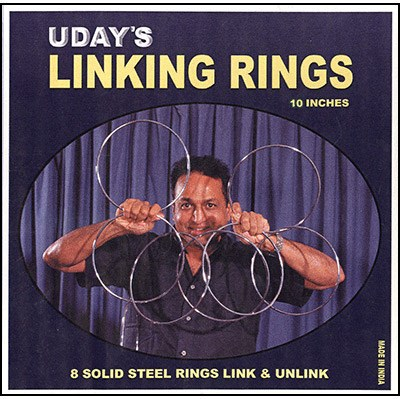 "10"" Linking Rings - magic"