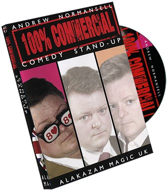 100 percent Commercial Volume 1 - Comedy Stand Up - magic