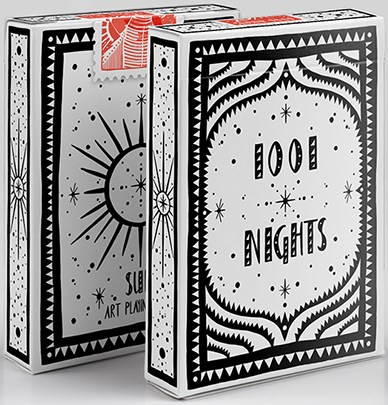 1001 Nights Sun Playing Cards - magic