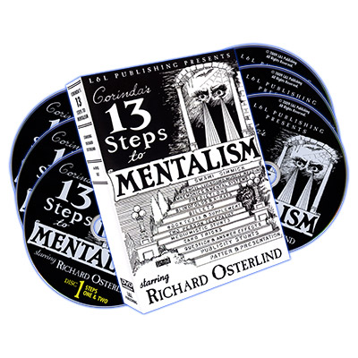 13 Steps To Mentalism (6 DVDs) - magic