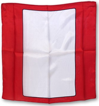 "18"" Blank Card Silk (Red) - magic"
