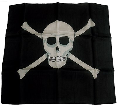 "18"" Skull Silk - magic"