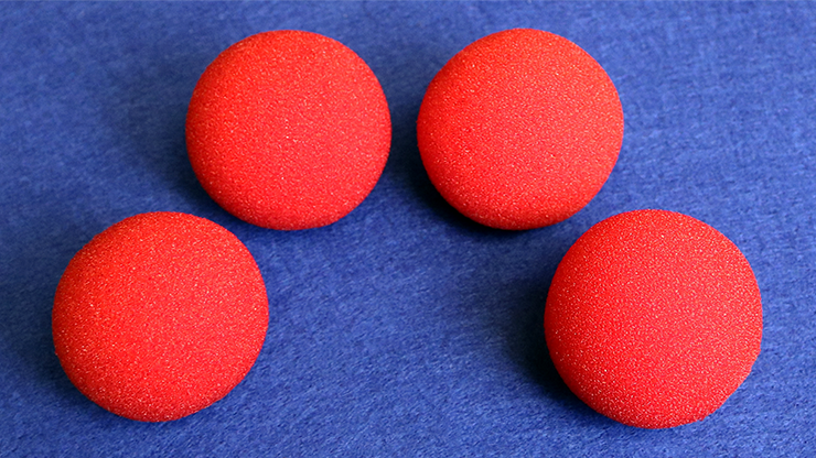 2 inch Regular Sponge Ball  Bag of 4 from Magic - magic