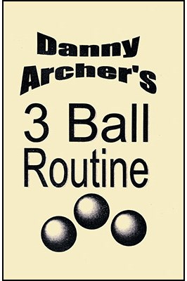 3 Ball Routine with DVD - magic