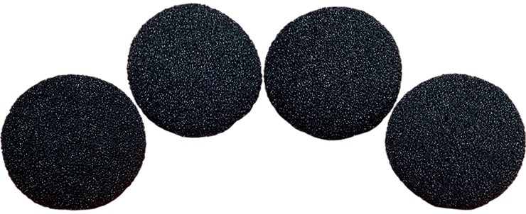3 inch Regular Sponge Ball  Pack of 4 from Magic - magic
