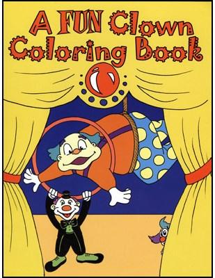 3 Way Coloring Book - Clown - magic