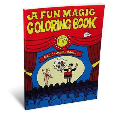 3 Way Coloring Book (Pocket Edition) - magic