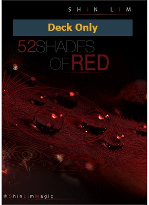 52 Shades of Red, Deck Only - magic