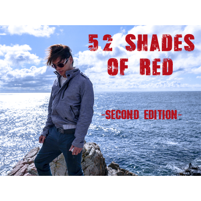 52 Shades of Red - Version 2 (Gimmicks Included) - magic