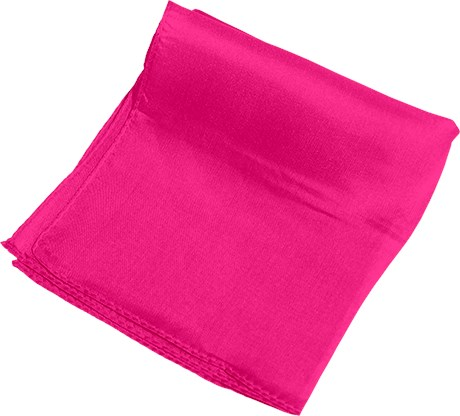 "9""  Silk (Hot Pink) - magic"