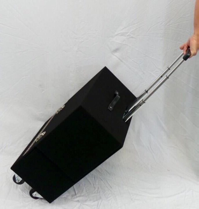 Joe Lefler Pro Suitcase Table Retractable Handle - magic