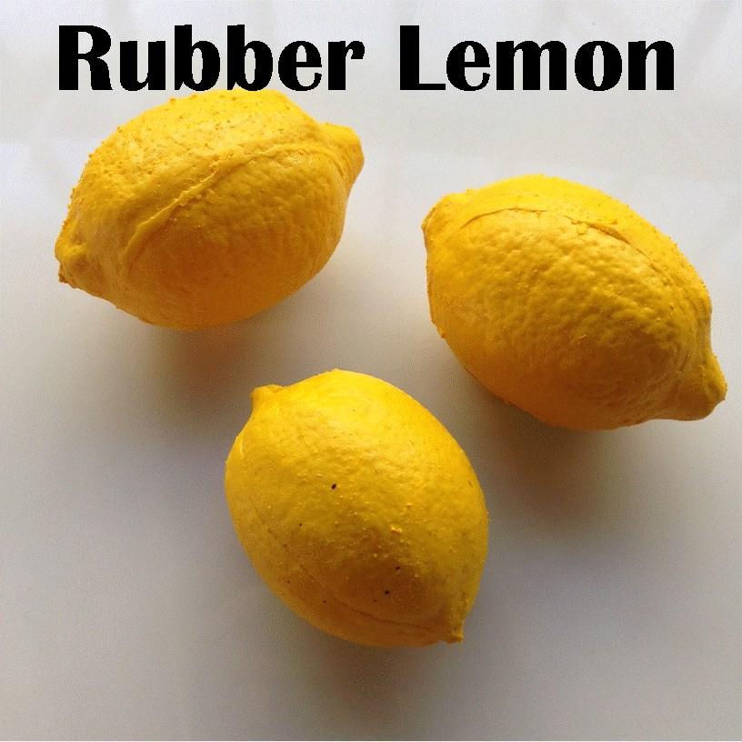 Rubber Fruit - Latex Lemon - magic