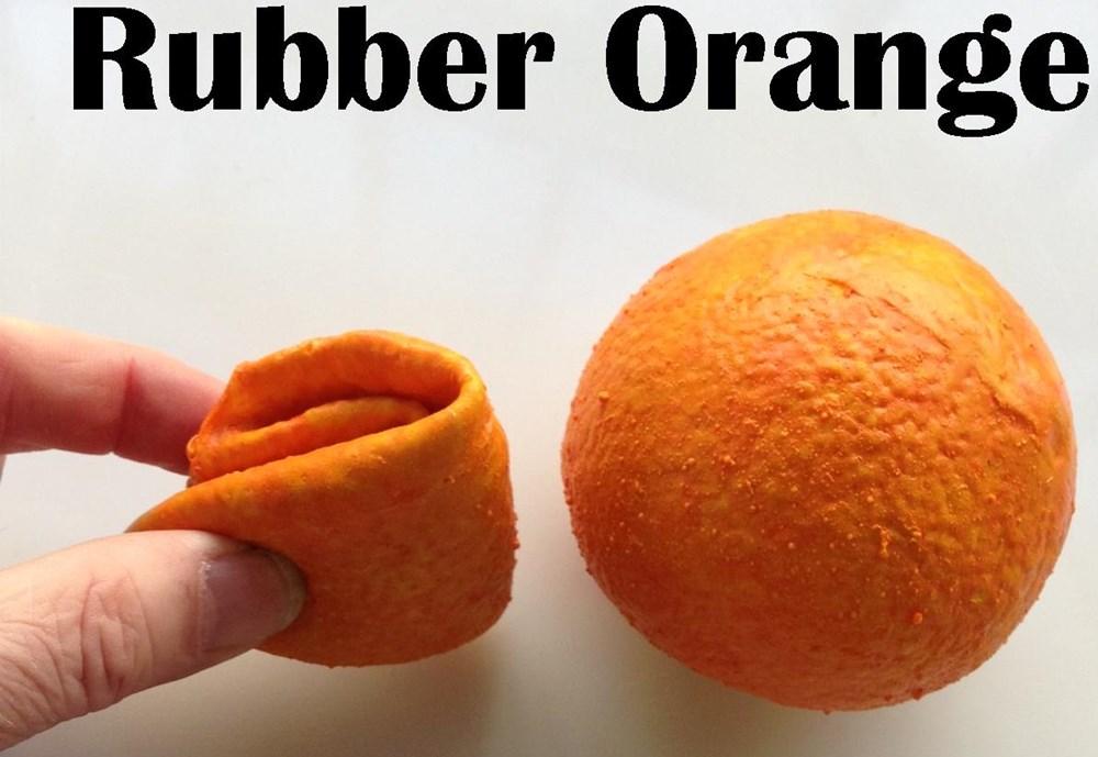 Rubber Fruit - Latex Orange - magic