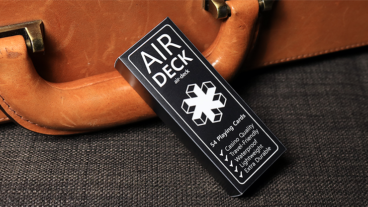 Air Deck - The Ultimate Travel Playing Cards - magic