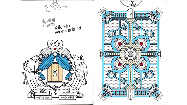 Alice in Wonderland Playing Cards - magic