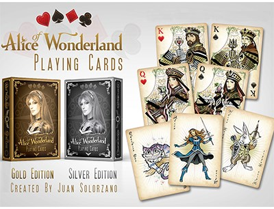 Alice of Wonderland (Silver) - magic
