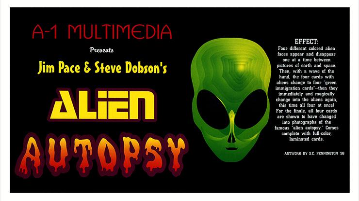 Alien Autopsy trick - magic