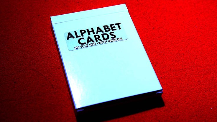 Alphabet Playing Cards Bicycle With Indexes - magic