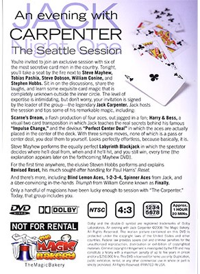An Evening with Jack: The Seattle Sessions - magic