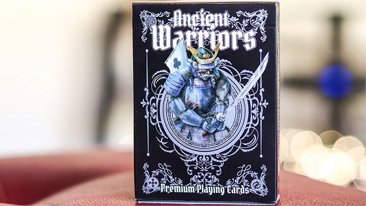 Ancient Warriors  Playing Cards (Black) - magic