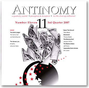 Antinomy Magazine #11 - magic