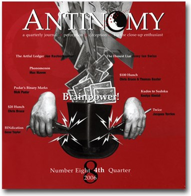 Antinomy Magazine #8 - magic
