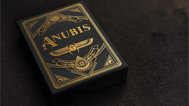 Anubis Playing Cards - magic
