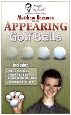 Appearing Golf Balls - magic