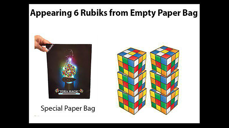 Appearing Rubiks from Tora Magic - magic