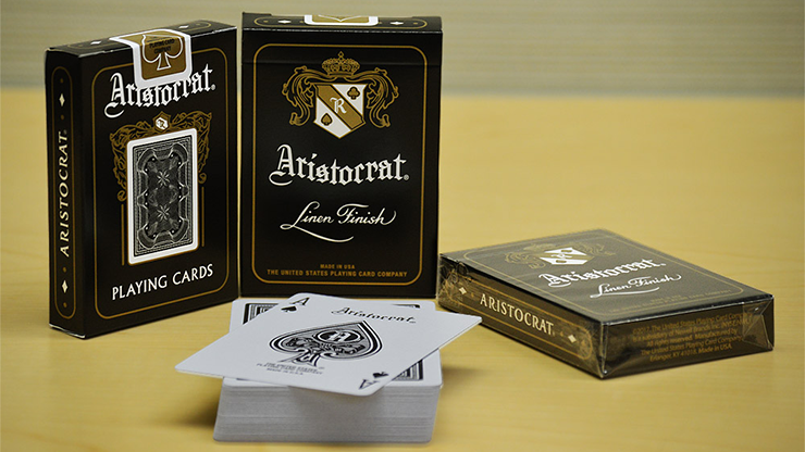 Aristocrat Black Edition Playing Cards - magic
