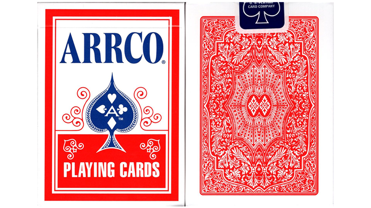 ARRCO Playing Cards - Red - magic