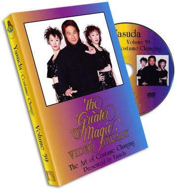 Art of Costume Changing  Greater Magic #59 -DVD - magic